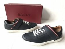 Bally Oasys Leather Strap Low Top Sneakers. Size: US 7.5.