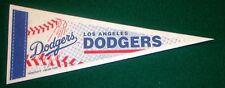 LOS ANGELES DODGERS VINTAGE MLB LICENSED MINI PENNANT, NEW