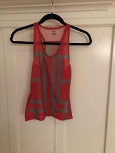 Rapha Women's Cycling Souplesse Sleeveless Base Layer XS Red/Grey