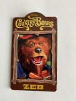 Disney Auctions Country Bears Zeb Disney Pin LE (B1)