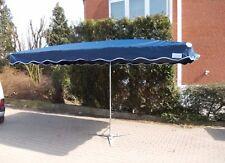 NEU 3 x 4 m Marktschirm Marktstand Umbrella Schirm Sonnenschirm in Marineblau