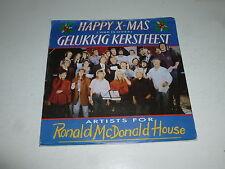 "ARTISTS FOR RONALD MCDONALD HOUSE - Happy X Mass - 1988 Dutch 7"" Juke Box Single"