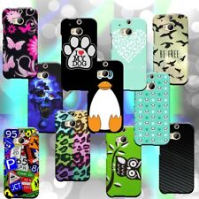 For HTC One (M8) / M8 for Windows - Hard Plastic Snap Design Phone Cover Case