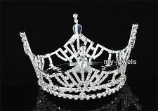 Pageant Beauty Contest Crown Full Circle Round Prom Bridal Wedding