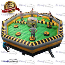 26ft Inflatable Meltdown Wipeout Obstacle Course Eliminator Game With Air Blower