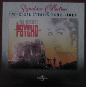 Psycho (1960) - Laserdisc Box-set Universal Signature Collection - Hitchcock