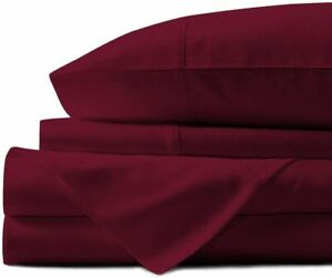 Mayfair Linen 800 Thread Count Striped Sheets for Bed -100% Long Staple Egyptian
