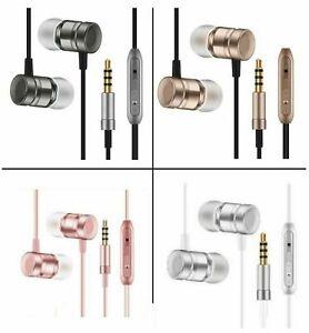 HUAWEI Y3 Y5 Y6 Y7 Pro Y9 NEW IN-EAR HANDSFREE HEADPHONES EARPHONES WITH MI