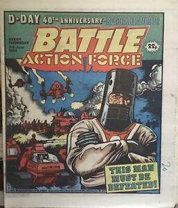 BATTLE ACTION FORCE Comic - Date 09/06/1984 - IPC UK