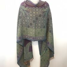 Women Ladies Winter Paisley Scarf Neck Shawl Wrap Warm 160 x 38cm 100/% Cashmere