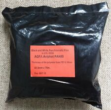 Agfa Aviphot Pan 80S Rollei Retro 80 75m 61,5mm Bulk Roll Brand New (Type 120)