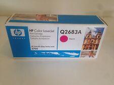 Hp Color Laserjet Q2683A Magenta Toner Sealed New Series 3700