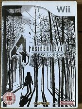 Resident Evil 4 ~ Nintendo Wii acción violenta/Survival Horror Juego Videojuego