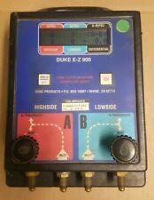 DUKE E-Z 900 TESTER WORKS