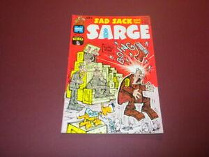 SAD SACK AND THE SARGE #82 Harvey Comic 1970 funny war cartoons GEORGE BAKER