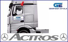 1 Paar MERCEDES ACTROS - LKW Seitenfenster Aufkleber - Sticker / Decal, B 50 cm!