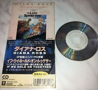 CD THE LAND BEFORE TIME - DIANA ROSS - IF WE HOLD ON TOGETHER - 10P3-6106- JAPAN