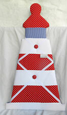 Lighthouse Fabric Covered Large Memo / Message Board - Wall Hanging