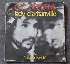 Cat Stevens, lady d'arbanville / i wish i wish, SP - 45 tours