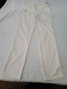 Nike Modern Tech Woven Slim Fit ⛳Golf Pants 509737-100 Men's Medium