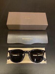 OLIVER PEOPLES OV5298 Finley Esq Sunglasses | Black Frame | Black Lens