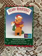 Hallmark Winnie the Pooh Christmas at Poohs House Merry Miniature Xmas Gift