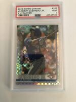 2019 TOPPS CHROME XFRACTOR PSA9 - VLADIMIR GUERRERO JR. ROOKIE CARD #201 RC
