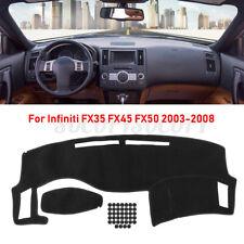 Dashboard Cover Dashmat Dash Mat Anti-slip Pad For Infiniti FX35 FX45 FX50