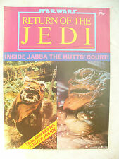 MAGAZINE STAR WARS RETURN OF THE JEDI No2 large ewok poster