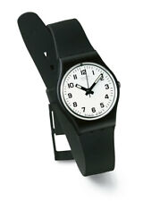 Swatch Something New Watch LB153 Analog Plastic Black