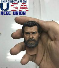 1/6 Wolverine Head w/ neck Old Hugh Jackman For Logan X-men U.S.A. SELLER