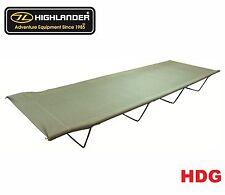 Highlander British Army Military Style Camp Bed OG Tent Camp Hike 3kg