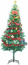 Gift Hunter Artificial Christmas Tree Multi-Color LED Lights and Decorarations