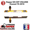 Nappe bouton ON OFF HUAWEI Y6 2018 power button volume up down flex cable