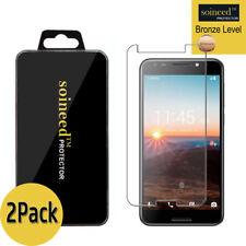 """[2-Pack] SOINEED Tempered Glass Screen Protector Film For """" T-Mobile REVVL"""""""