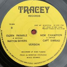 """Morris Ming / Dubble Ugly - Bubbling / Sufferation  12"""" Rare UK roots !"""