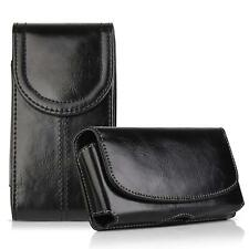 2 Pack Luxury Leather with Belt Holster Case Cover for iPhone 6 / 7 /8 Plus