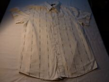 OAKLEY SIZE M/44 SHORT SLEEVE POLYCOTTON SHIRT