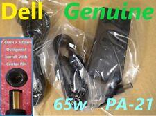 DELL GENUINE 65W PA-21 INSPIRON AC ADAPTER LA65NS2-00 PA-1650-02DW NX061 AC CORD