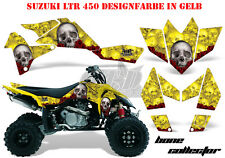 Amr racing décor Graphic Kit ATV suzuki ltr 450 Lt-r Bone Collector B