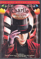 Charlie and the Chocolate Factory (DVD 2005 2-Disc Set Widescreen Deluxe Edition