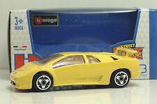 "Bburago 30010 Lamborghini DIABLO ""Yellow"" - METAL Scala 1:43"