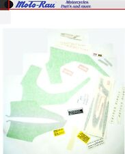 Aprilia SR 50 LC 1997 Dekorsatz Aufklebersatz silber grün Sticker