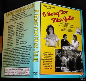 A SONG FOR MISS JULIE - DVD - Shirley Ross, Jane Farrar
