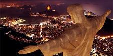 QUADO-stampa- Rio de Janeiro - Brasile -tramonto-PRINTING-impression