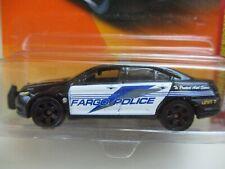 MATCHBOX - FARGO - FORD TAURUS INTERCEPTOR POLICE CAR - DIECAST