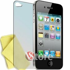 5 x Film for IPHONE 4 4S 4th Screen Protector Display Apple Retro + Cloth