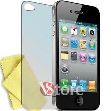 5 x Pellicola Per iPhone 4 4S 4th Proteggi Schermo Display Apple Retro + Panno