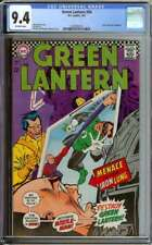 GREEN LANTERN #54 CGC 9.4 OW PAGES