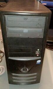 Desktop ECS G33T-M2  Intel G33 Intel Motherboard, GEFORCE GT630, 500GBHDD, READ!